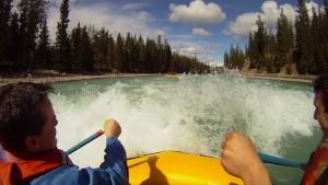 whitewater rafting Jasper