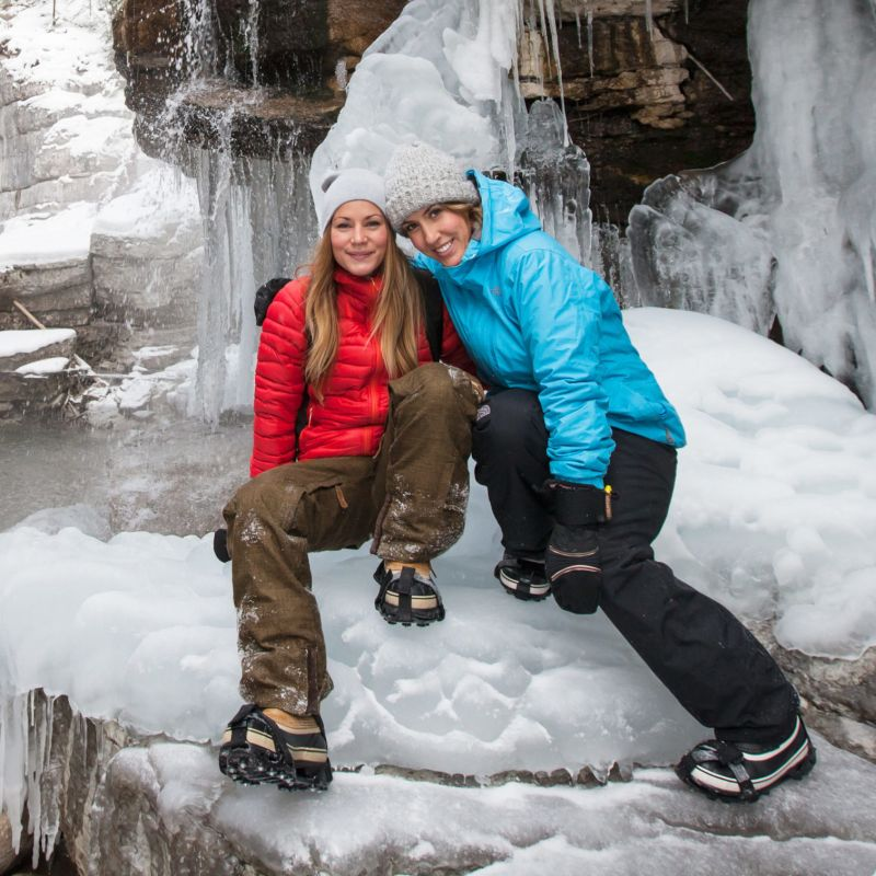 Explore ice canyons, wildlife and ride the steel rails with Sundog Tours