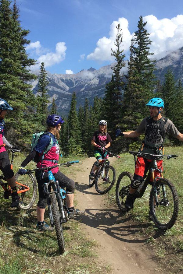 Ride Jasper's Mountain Bike trails with Journey Bike Guides