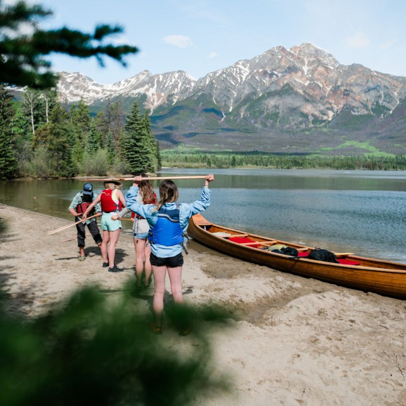 Paddle Jasper's Lakes with Wild Current Outfitters